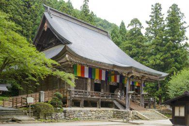 立石寺中堂